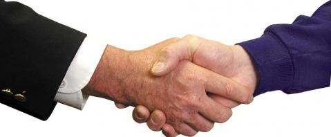 poignee de main signification